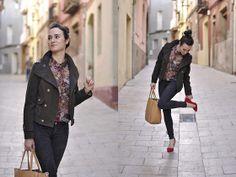 Mango Shirt, Zara Jacket, Zara Jeans, Bag