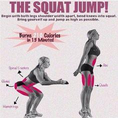 I love squat jumps! Targets my two fav areas at the same time #tazsangelsbootcamp *kinky - @tazsangelsbootcamp- #webstagram
