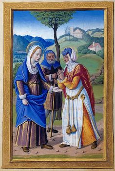 The Morgan Library & Museum Online Exhibitions - Hours of Henry VIII - Visitation by Jean Poyer