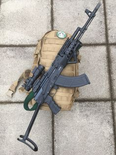 My modified Ak 47Loading that magazine is a pain! Get your Magazine speedloader today! http://www.amazon.com/shops/raeind