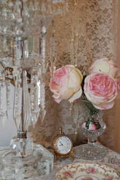 Crystal and roses Lady-Gray-Dreams