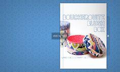 flipsnack - DIY boucheruite blush box tutorial - download the PDF