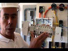 Vídeo aula de Instalação de Quadro de Distribuição de Cargas Monofásico - QDC - Final - YouTube