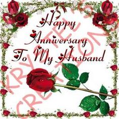 Happy Wedding Anniversary To My Lovely Husband