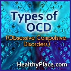 Obsessive compulsive disorders are extremely disturbing to those who live with them. Learn about the different types of obsessive compulsive disorder in DSM-V.