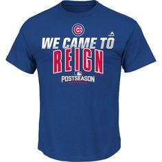 Chicago Cubs Authentic Collection 2016 Postseason Participant T-Shirt  #ChicagoCubs #Cubs #FlyTheW SportsWorldChicago.com