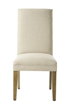 Straight-Back Parsons Dining Chair - Dining Chair - Dining Room - Furniture   HomeDecorators.com