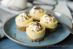 Eierlikör-Mini-Cheesecakes