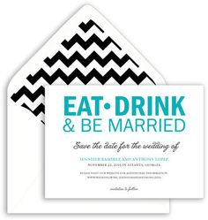 Be Married Save the Date Announcements