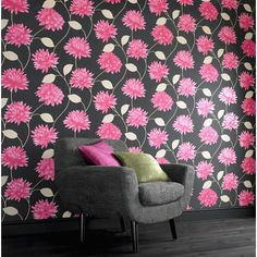 I pinned this Serenity Romance Wallpaper in Pink from the Graham & Brown event at Joss & Main!