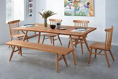 【享受家】LU-729-5 原森林7尺原木餐桌 (不含其他商品) 台中以北滿五千享折扣