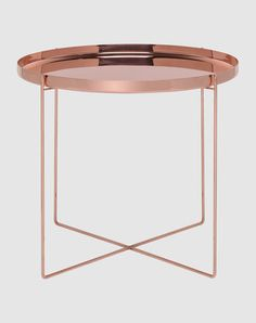 e15 Copper Table from Yoox