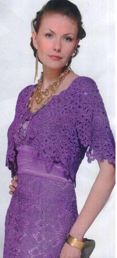 Crochet dress and bolero…...
