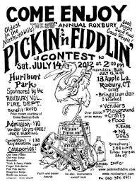 Every year Roxbury hosts the Pickin' n Fiddlin' Contest