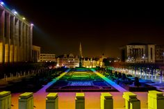 500px'te Rami Niazy tarafından The Colorful Lights of Brussels  fotoğrafı#Cityscape #Night #Brussles