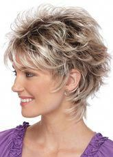 Startling Useful Tips: Wedding Hairstyles Brunette short pixie hairstyles.Boho Hairstyles Dreads women hairstyles over 50 photo galleries.Women Hairstyles Over 50 Photo Galleries. Short Hair Wigs, Cute Hairstyles For Short Hair, Wig Hairstyles, Curly Hair Styles, Layered Hairstyles, Hairstyle Ideas, Feathered Hairstyles, Curly Wigs, Hairstyles 2016