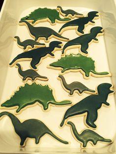 Dinosaur Cookies #LeLaEventsandSweets http://www.lelaevents.com/