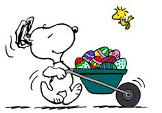 Snoopy Easter Beagle and his Assistant