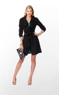Alexis Coat  #LillyHoliday