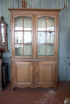 $2,500 Antique French Provincial Library Vitrine image 4