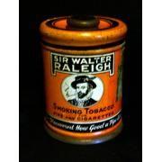 Round Vintage Sir Walter...