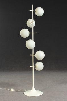 E.R. Nele 'Kugelspiel' für Temde, Switzerland, 1970s (Diese Lampe wird irrtümlicherweise oft Max Bill zugeschrieben!)