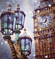 winter magic in london // big ben