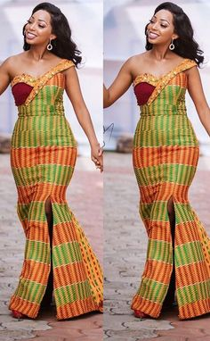 african fashion outfits that looks great African Wedding Dress, African Print Dresses, African Fashion Dresses, African Dress, Ankara Fashion, African Fashion Designers, African Inspired Fashion, African Print Fashion, African Attire