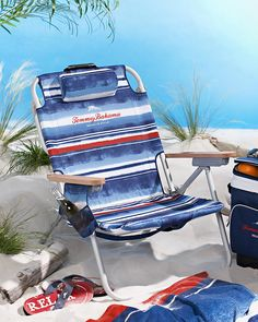 Relax in Style™ Deluxe Backpack Beach Chair