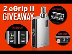 Win Joyetech eGrip II, All-in-one Device for Daily Vaping Contest by HeavenGifts-6/7/2016 | Page 2 | Vaping Underground Forums - An Ecig and Vaping Forum