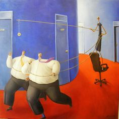 By Sarah-Jane Szikora She should definitely be wearing a seatbelt! Beryl Cook, Art Gallery, Painting, Surrealism, Inspiration, Illustrations, Woman, Google, Search