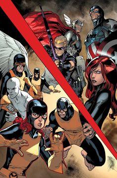 Stuart Immonen - All-New X-Men #8
