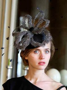 hats can be designed and created to suit the individual by Tracy Chaplin, milliner.