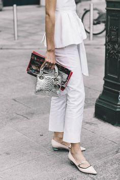 Street style, Paris Fashion week, Haute Couture, Giovanna Battaglia, PFW
