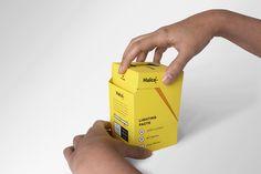 Halco #Lightbulb brilliant #Packaging on Behance