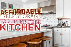 If there's any activity or hobby that benefits the most from cleanliness and organisation, it's cooking. But how do secure self storage units fit into the picture? Here, we provide the answers to that question. Self Storage Units, Clutter, Sydney, The Unit, This Or That Questions, Cooking, Fit, Kitchen, Home Decor