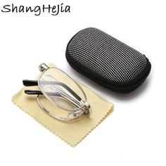 1.5~+4.0 Men's Glasses Humble Magnifying Glasses Makeup Cosmetic Reading Glass Folding Eyeglasses