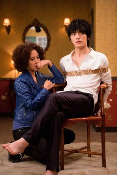 Jaejoong and Jihyo in Jackal