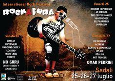 ROCK A FURA – SADALI – 25-26-27 LUGLIO 2014