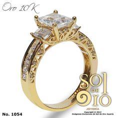 Anillo de compromiso oro 14k RD$8,000
