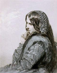 Egg, August Leopold (b,1816)- Desemona- F- 'Othello' in- 'Heroines- Plays of Wm Shakespeare'