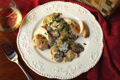 The Two Bite Club: Mushroom Artichoke Chicken