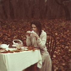 Autumn Tea party//