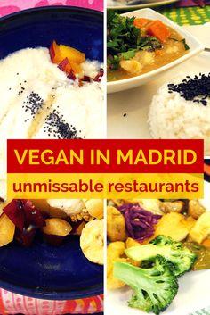 UNMISSABLE VEGAN RESTAURANTS IN MADRID http://www.angloitalianfollowus.com/vegan-restaurants-in-madrid #veganism #spain #vegantravel