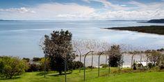 Ralph Hotere - Alan Gibbs' sculpture farm on Kaipara Harbor