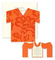 Image Detail for - Party Invitations Big Kahuna Orange Hawaiian Tropical Shirt .