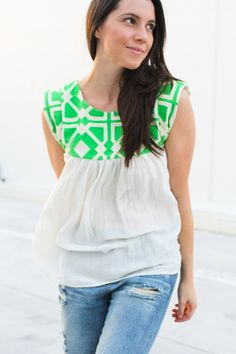Woven Alice Top by Sophie | Ada Spragg | Project | Sewing / Women's | Shirts, Tanks, & Tops | Kollabora