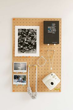 Shape a Positive Work-Space With DIY Cubicle Organization Projects Pegboard Display, Pegboard Organization, Organizing, Electronics Projects, Electronics Storage, Diy Home Crafts, Diy Home Decor, Diy Decoration, Room Decor