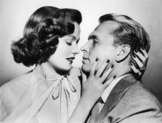 """Gene Tierney and John Lund - publicity still for """"The Mating Season"""""""