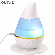 Good Price $9.13, Buy Car Ultrasound humidifier USB Air Aroma Humidifier With 7 Color Lights Electric Aromatherapy Essential Oil Aroma Diffuser